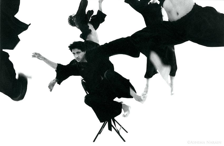 Shiamak Davar, Dancer and Bollywood Choreographer, shot in a studio in Mumbai.