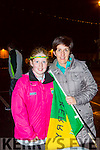 Kathleen and carla Counihan Castlemaine at the Kerry team homecoming in Killarney on Monday