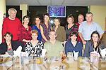TRACK TIME: The staff of Fossa NS enjoying the Irish Children's Pilgrimage Trust Night at the Dogs at the Kingdom Greyhound on Saturday seated l-r: Ursula Coffey, Angela Lynch, Brendan Lynch, Linda O'Donoghue and Triona Sheehy. Back l-r: Kieran Coffey, Norann Moran, Muireann O'Donovan, Claire Griffin, Rosemary Moynihan, Helen Moynihan, Pat Moynihan and Donal O'Donoghue.
