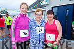 Hannah and Eileen McCarthy and Jackie Treanor at the 5k/10k walk in Kilmoyley on Sunday morning