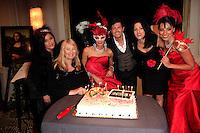 "BEVERLY HILLS - OCT 19: Anna Wilding, Ivan Amodei, Jennifer Tash at the ""Intimate Illusions"" headliner Ivan Amodei's 400th show celebration at the Beverly Wilshire Hotel on October 19, 2013 in Beverly Hills, California"