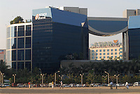 INDIA, Mumbai, business and finance complex Bandra-Kurla, ICICI Bank / INDIEN, Mumbai, Finanz und Business Komplex Bandra-Kurla