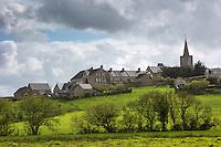 France, Manche (50), Quinéville:  Le village // France, Manche, Quineville: