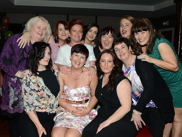 Verna Gorman celebrating her 40th birthday in Brú with friends . Photo:Colin Bell/pressphotos.ie