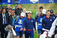 Thorbjorn Oleson (Team Europe) at the Ryder Cup, Le Golf National, Paris, France. 27/09/2018.<br /> Picture Phil Inglis / Golffile.ie<br /> <br /> All photo usage must carry mandatory copyright credit (© Golffile | Phil Inglis)