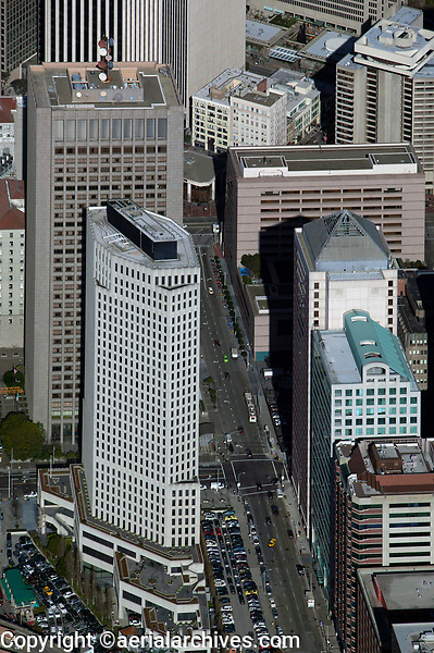 aerial photograph Providian Financial Building 201 Mission Street San Francisco financial district