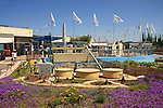 Israel, Shephelah. Mini Israel park in Ayalon valley