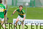 Tadhg Morley Kerry in action against  IT Tralee in the McGrath cup at Austin Stack Park on Sunday.