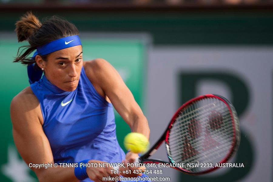 CAROLINE GARCIA (FRA)<br /> <br /> TENNIS - FRENCH OPEN - ROLAND GARROS - ATP - WTA - ITF - GRAND SLAM - CHAMPIONSHIPS - PARIS - FRANCE - 2017  <br /> <br /> <br /> <br /> &copy; TENNIS PHOTO NETWORK
