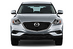 Straight front view of a 2013 Mazda CX9