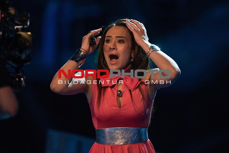 16.05.2015, &Ouml;VB-Arena, Bremen, GER, DSDS sucht den Superstar _ Finale 2015, im Bild<br /> <br /> <br /> Viviana Grisafi<br /> <br /> Foto &copy; nordphoto / Kokenge
