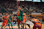 League ACB-ENDESA 2017/2018. Game: 30.<br /> Divina Seguros Joventut vs Valencia Baket Club: 77-75.<br /> Nico Laprovittola.