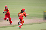 Zhou Caiyun of China in action during their ICC 2016 Women's World Cup Asia Qualifier match between Hong Kong and China on 14 October 2016 at Hong Kong Cricket Club in Hong Kong, China. Photo by Marcio Machado / Power Sport Images