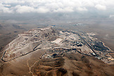 USA, Nevada, Las Vegas, Mojave Desert, A large strip mine located just North East of Las Vegas