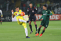 BOGOTA -COLOMBIA, 25-02-2017.Action game between  La Equidad and Atletico Nacional during match for the date 5 of the Aguila League I 2017 played at Ne stadium . Photo:VizzorImage / Felipe Caicedo  / Staff