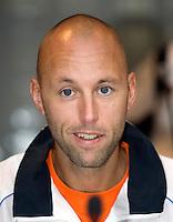 18-9-08, Netherlands, Apeldoorn, Tennis, Daviscup NL-Zuid Korea, Draw in cityhall,  Peter Wessels