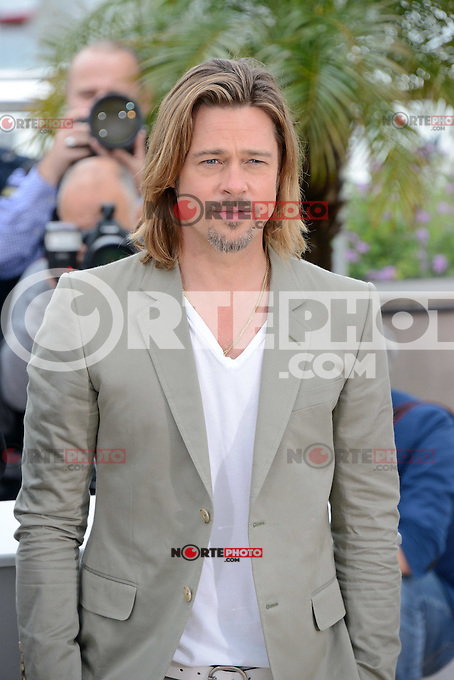 """Brad Pitt attending the """"Killing them Softly"""" Photocall during the 65th annual International Cannes Film Festival in Cannes, France, 22nd May 2012..Credit: Timm/face to face /MediaPunch Inc. ***FOR USA ONLY***"""