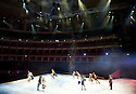 Swan Lake on Ice performed by The Imperial Ice Stars choreographed by Tony Mercer with music by Tchaikovsky.  Opens at The Royal Albert Hall on 18/5/12  .CREDIT Geraint Lewis
