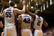 Duke blew out UNC 82-50 in the last regular season game at Cameron Indoor Stadium in Durham, N.C., Sat., March 6, 2010.
