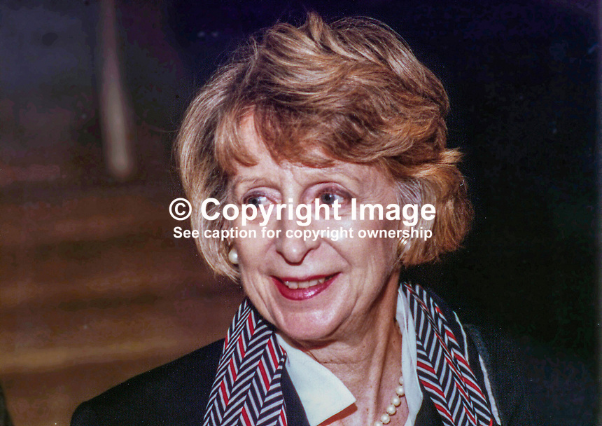 Caroline Benn, wife of Tony Benn, Tony Wedgwood Benn, MP, Labour Party, UK, Westminster Parliament, 19930932/CB.<br /> <br /> Copyright Image from Victor Patterson, 54 Dorchester Park, Belfast, UK, BT9 6RJ<br /> <br /> t1: +44 28 9066 1296 (from Rep of Ireland 048 9066 1296)<br /> t2: +44 28 9002 2446 (from Rep of Ireland 048 9002 2446)<br /> m: +44 7802 353836<br /> <br /> e1: victorpatterson@me.com<br /> e2: victorpatterson@gmail.com<br /> <br /> www.victorpatterson.com<br /> <br /> IMPORTANT: Please see my Terms and Conditions of Use at www.victorpatterson.com