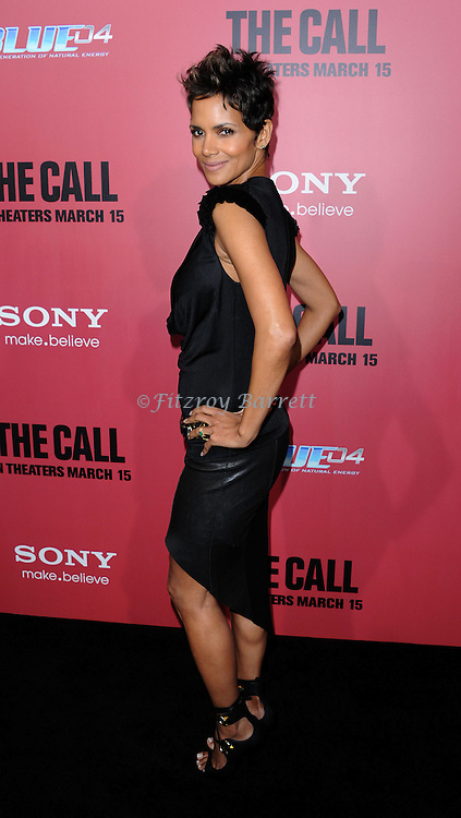 "Halle Berry at the premiere for ""The Call"" held at Archlight  Theater in Los Angeles, CA. March 5, 2013."