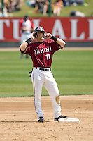 July 6, 2008: The Yakima Bears' Collin Cowgill during a Northwest League game against the Everett AquaSox at Everett Memorial Stadium in Everett, Washington.
