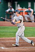 Todd Czinege (18) of the Grand Junction Rockies bats against the Ogden Raptors at Lindquist Field on September 6, 2017 in Ogden, Utah. Ogden defeated Grand Junction 11-7. (Stephen Smith/Four Seam Images)