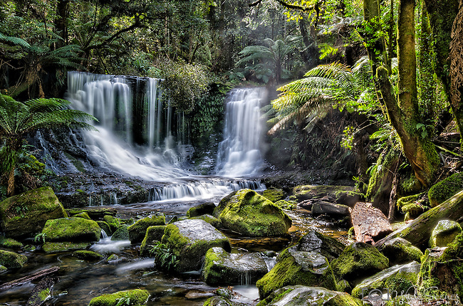 Horseshoe Fall in the Mt Field National Park in Tasmania, Australia.