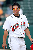 June 2, 2007:  Chris Aquila of the Indianapolis Indians at Victory Field in Indianapolis, IN.  Photo by:  Chris Proctor/Four Seam Images