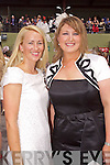 Louise Flynn and Ellen Doyle pictured at Killarney Races Ladies day on Thursday.
