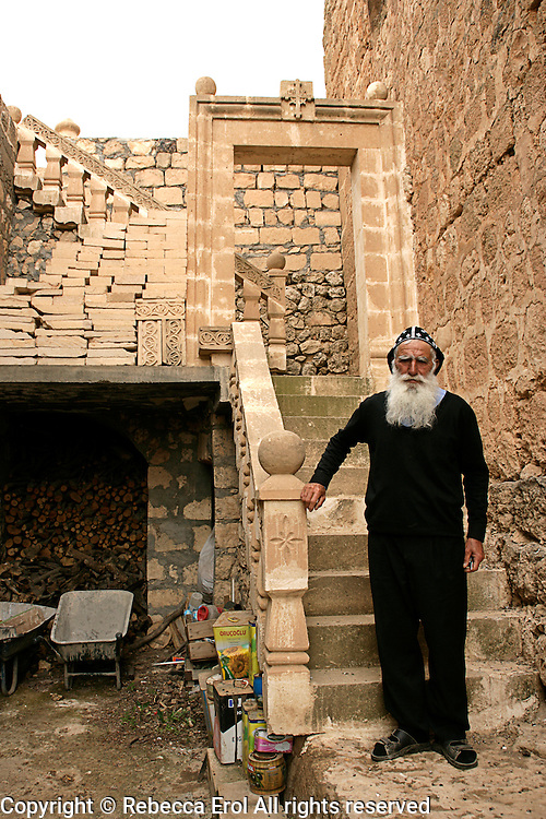 Father Jacob of Mor Dimet church, Izbirak near Midyat