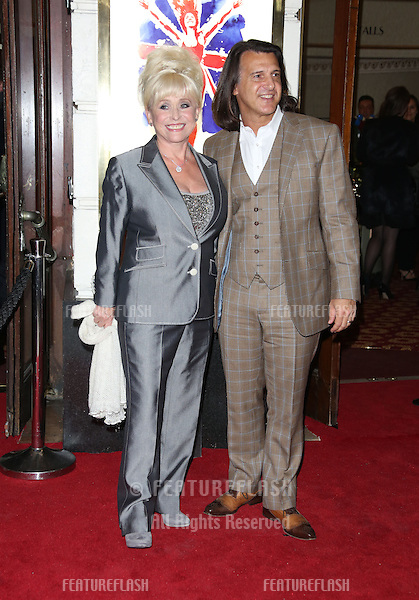 Barbara Windsor arriving for VIVA Forever Spice Girls the Musical held at the Piccadilly Theatre. 11/12/2012 Picture by: Henry Harris / Featureflash