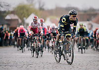 Niki Terpstra (NED/Direct Energie) charging up Nokereberg<br /> <br /> 71th Kuurne-Brussel-Kuurne 2019 <br /> Kuurne to Kuurne (BEL): 201km<br /> <br /> ©kramon