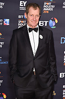 Alistair Campbell arriving for the BT Sport Industry Awards 2018 at the Battersea Evolution, London, UK. <br /> 26 April  2018<br /> Picture: Steve Vas/Featureflash/SilverHub 0208 004 5359 sales@silverhubmedia.com