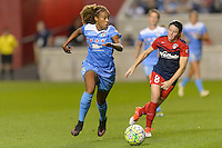 Chicago, IL - Saturday Sept. 24, 2016: Casey Short during a regular season National Women's Soccer League (NWSL) match between the Chicago Red Stars and the Washington Spirit at Toyota Park.