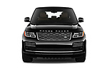 Car photography straight front view of a 2018 Land Rover Range Rover Autobiography 5 Door SUV