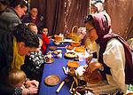 Garden City, New York, USA. December 6, 2013 - A Night in Bethlehem, Lutheran Church of the Resurrection, with Living Nativity.