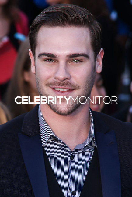 "WESTWOOD, LOS ANGELES, CA, USA - MARCH 18: Grey Damon at the World Premiere Of Summit Entertainment's ""Divergent"" held at the Regency Bruin Theatre on March 18, 2014 in Westwood, Los Angeles, California, United States. (Photo by David Acosta/Celebrity Monitor)"