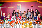 Natasha Bustard from Cahermoneen, Tralee enjoying her hen party on Saturday with friends and family at Ristorante Uno. Natasha is due to marry Tony Conway from Lixnaw on 15th of January 2016. Pictured front l-r  Michelle Quirke, Michelle James, Diane Mansfield, Linda McCarthy, Natasha Bastard, Elaine Conway, Kim Stokes and Siobhan O'Connor. Back l-r  Ann Bustard, Sinead O'Shea, Jodie O'Shea, Helen Conway, Fiona Barrett, Lorraine Williams and Tracy O'Connor