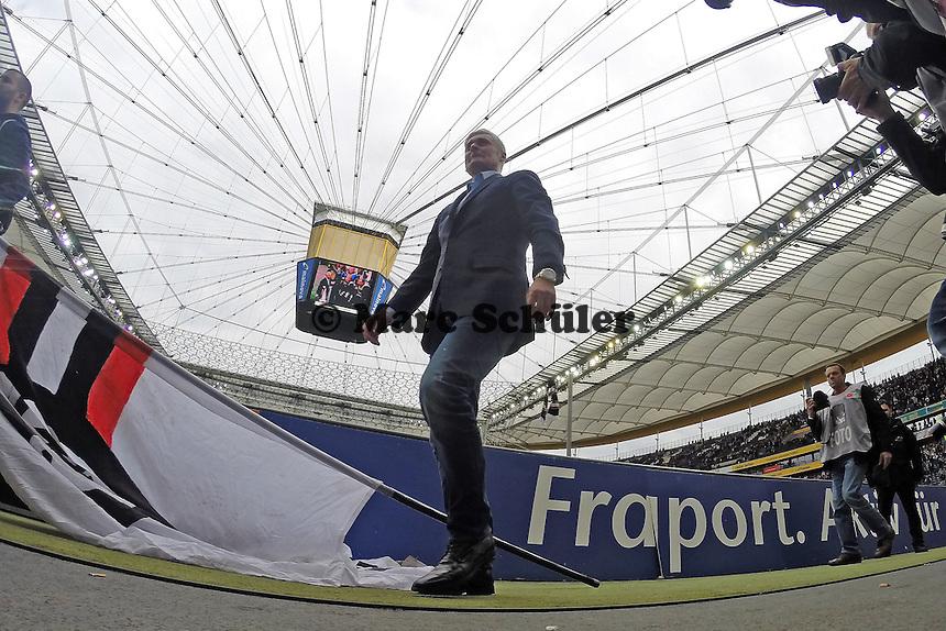 Trainer Armin Veh (Eintracht) - Eintracht Frankfurt vs. Bayer Leverkusen, Commerzbank Arena