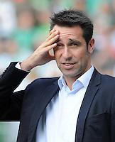 FUSSBALL   1. BUNDESLIGA   SAISON 2011/2012    7. SPIELTAG SV Werder Bremen - Hertha BSC Berlin                   25.09.2011 Michael PREETZ (Hertha BSC Berlin)