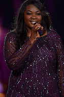"Washington, DC - July 3, 2013:  American Idol season 12 winner Candice Glover performs at the ""A Capitol Fourth"" concert rehearsal at the U.S. Capitol July 3, 2013.  (Photo by Don Baxter/Media Images International)"