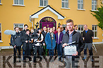 Tralee Director Adam Rael, with cast and crew of a new short film called 'Scarlet's Suicide' which has been filming scene in the Tralee Area over this week