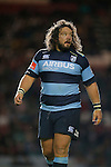 Rugby Union - Leicester Tigers vs Cardiff Blues - pre-season friendly - Welford Road Leicester - 29th August 2014 -  Adam Jones in action for Cardiff Blues - Picture - Malcolm Couzens/Sportimage
