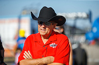Oct 16, 2016; Ennis, TX, USA; NHRA team owner Don Schumacher during the Fall Nationals at Texas Motorplex. Mandatory Credit: Mark J. Rebilas-USA TODAY Sports