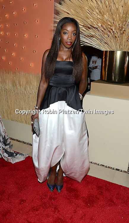 Estelle attends the New Yorkers for Children 15th Annual Fall Gala to Benefit Youth in Foster Care which is presented by Chloe and David Yurman at Cipriani 42nd Street on September 30,2014 in New York City. <br /> <br /> photo by Robin Platzer/Twin Images<br />  <br /> phone number 212-935-0770