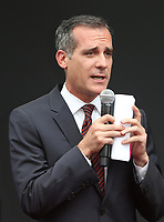 02 August 2017 - Universal City, California - Eric Garcetti. 'Will & Grace' Start Of Production Kick Off Event And Ribbon Cutting Ceremony. Photo Credit: F. Sadou/AdMedia
