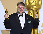04.03.2018; Hollywood, USA: GUILLERMO DEL TORO - BEST DIRECTOR<br /> at the 90th Annual Academy Awards held at the Dolby&reg; Theatre in Hollywood.<br /> Mandatory Photo Credit: &copy;Francis Dias/Newspix International<br /> <br /> IMMEDIATE CONFIRMATION OF USAGE REQUIRED:<br /> Newspix International, 31 Chinnery Hill, Bishop's Stortford, ENGLAND CM23 3PS<br /> Tel:+441279 324672  ; Fax: +441279656877<br /> Mobile:  07775681153<br /> e-mail: info@newspixinternational.co.uk<br /> Usage Implies Acceptance of Our Terms &amp; Conditions<br /> Please refer to usage terms. All Fees Payable To Newspix International