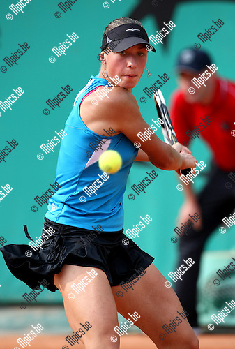 2010-05-25 / Tennis / Roland Garros 2010 / Day 3 /   Yanina Wickmayer during her game against Sandra Zahlavova..Foto: mpics