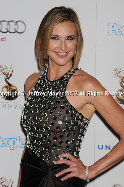 WEST HOLLYWOOD, CA - SEPTEMBER 21: Brenda Strong  attends the 64th Primetime Emmy Awards Performers Nominee reception held at Spectra by Wolfgang Puck at the Pacific Design Center on September 21, 2012 in West Hollywood, California.